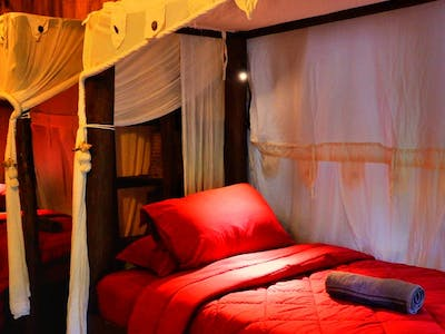 Although the accommodation is shared you can enjoy some privacy