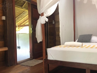Couple bungalow with private bathroom