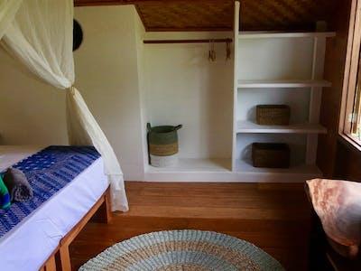 Villa Mentawai upstairs bedroom