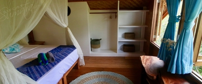 Villa Mentawai upstairs bedroom