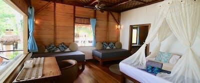 Downstairs room Villa Mentawai