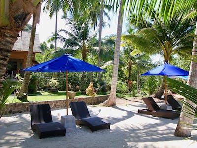 Loungers at Villa Mentawai