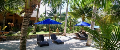 Loungers at Villa Mentawai