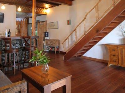 Roomy interior