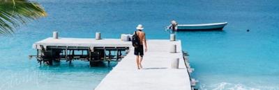 Sozinhos private pier