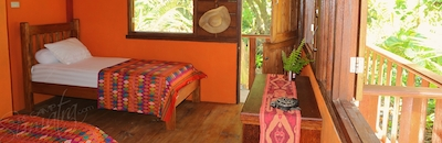 All accommodation opens up to catch the natural breeze