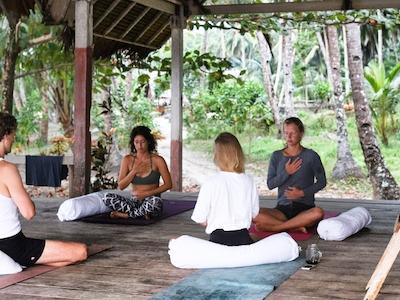 Yoga platform