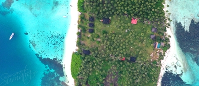 Set on 8 acres of tropical paradise