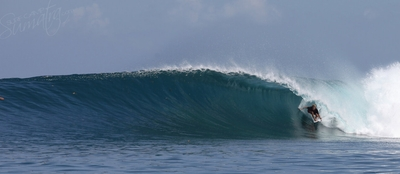 World class waves for the advanced surfers