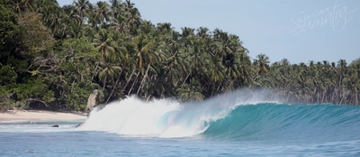 Some of the least crowded waves in Sumatra