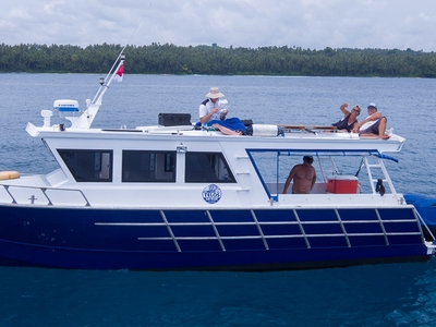 Unrestricted use of the resorts speedboats included