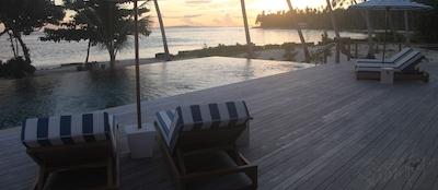 The perfect way to enjoy a Sumatran sunset