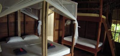 1-4 guests per bungalow