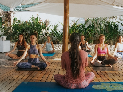 Yoga classes available but subject to availability