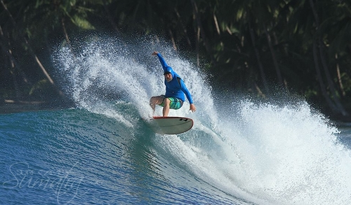 Tantras (South) surf break Sumatra