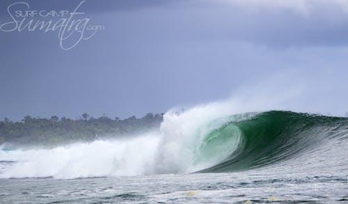 Chongs surf break Sumatra