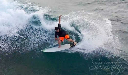 Fish Face surf break Sumatra
