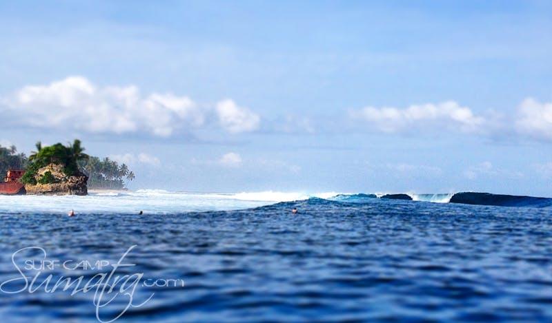 Banana Island  surf break Sumatra