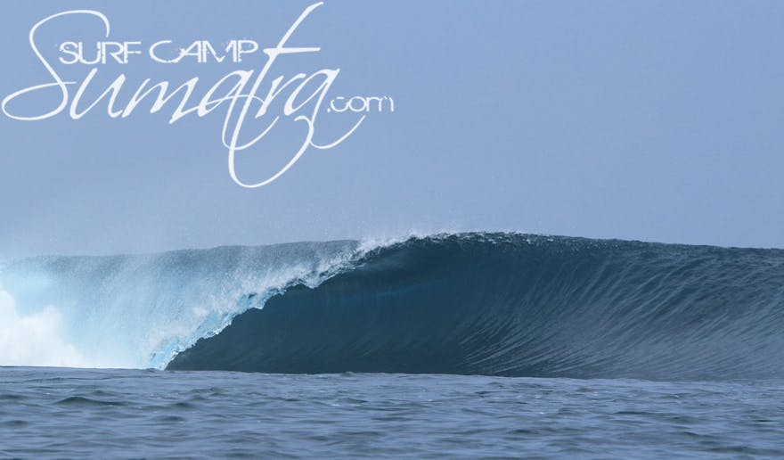 Afulu surf break Sumatra