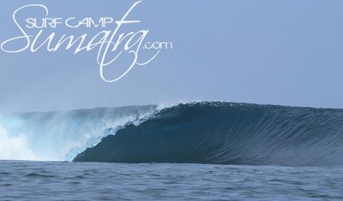 Afulu surf break Sumatra