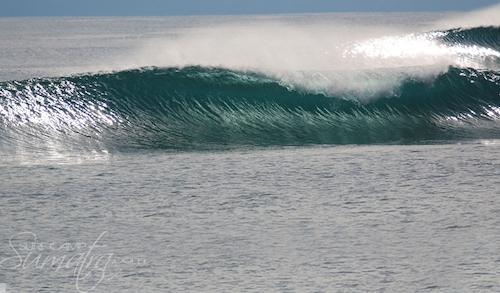 Joysticks surf break Sumatra