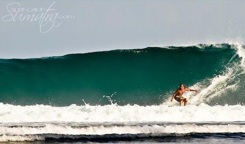 Nagadens surf break Sumatra