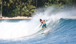 McDonalds surf break Sumatra