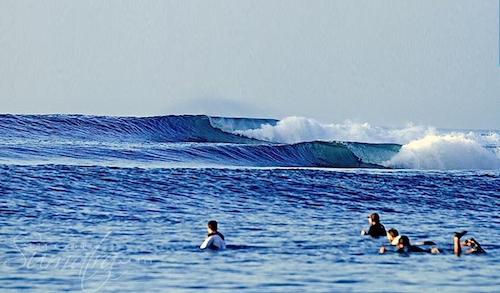 Tantang (South) surf break Sumatra