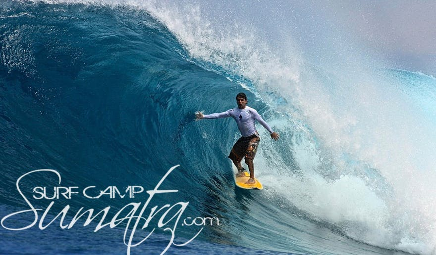 Bawa surf break Sumatra