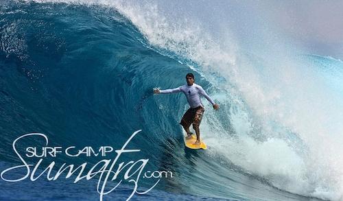 Bawa surf break Sumatra