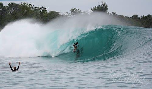 Green Bush surf break Sumatra