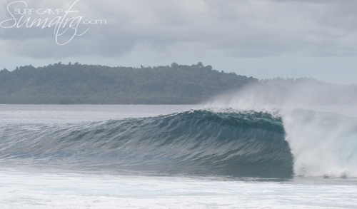 Tea Bags surf break Sumatra