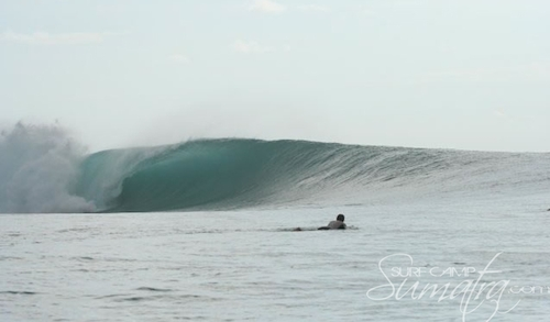 Shadow Right surf break Sumatra