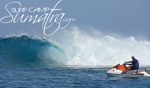 Bommie surf break Sumatra