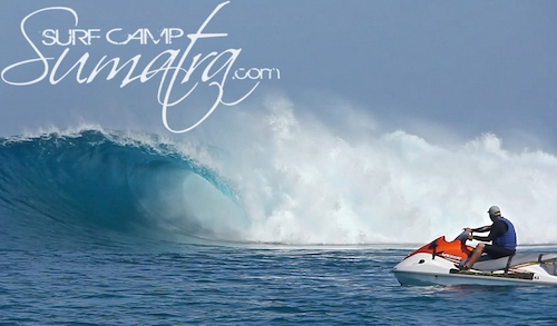 Bommie surf break Sumatra