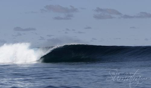 Thailands Left surf break Sumatra