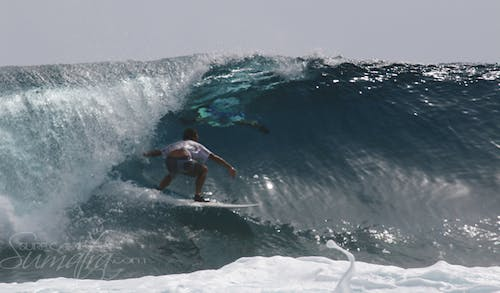 Cobras surf break Sumatra