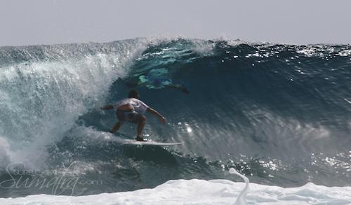 Cobras surf break Sumatra
