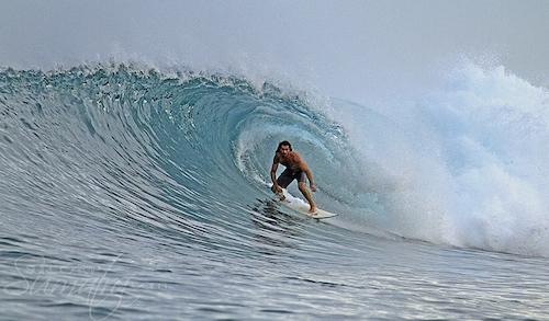 Pasti (South) surf break Sumatra