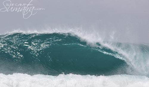 Last Rites surf break Sumatra