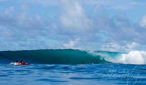 Ombak Tidur surf break Sumatra