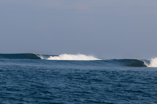 HT's surf break Sumatra