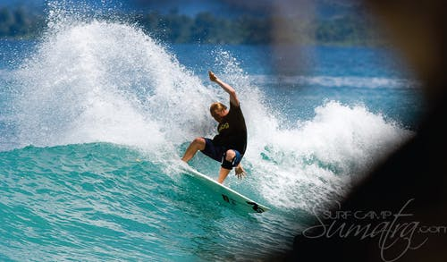 Pitstops surf break Sumatra