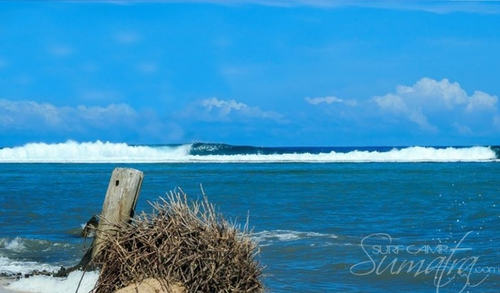 The Cobra surf break Sumatra