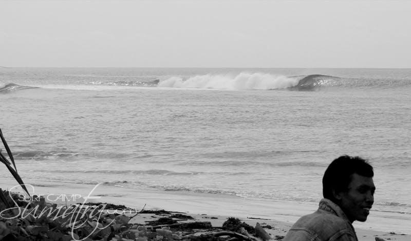 Krui Left surf break Sumatra