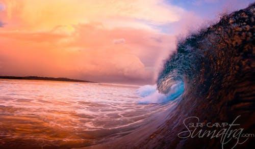 Hookers surf break Sumatra