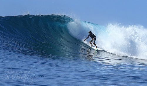 Shhhhh surf break Sumatra