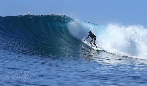 Tangguh (South) surf break Sumatra