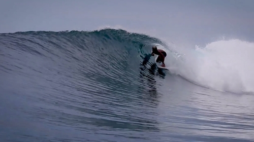 Pistols surf break Sumatra