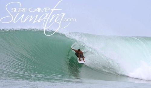 Salonako surf break Sumatra